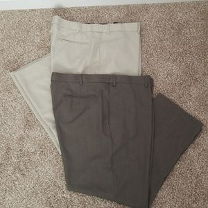 Bundle of 2 Pairs of Botany 500 Men's Dress Pants